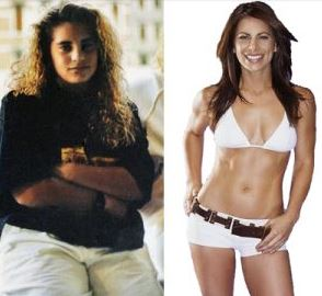 Before and After Jillian Michaels