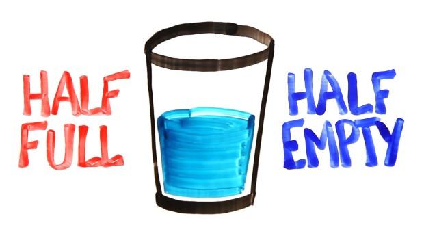 half glass