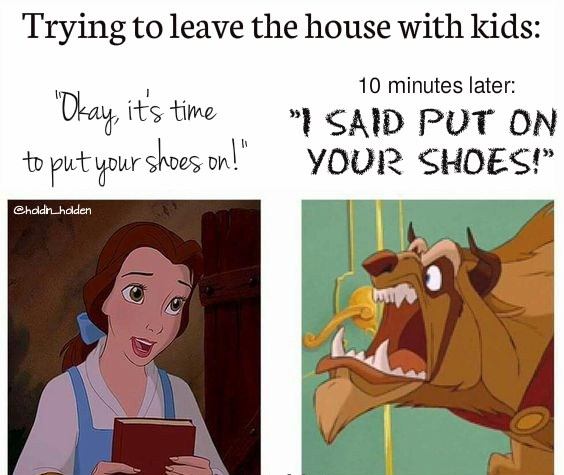 put on your shoes meme