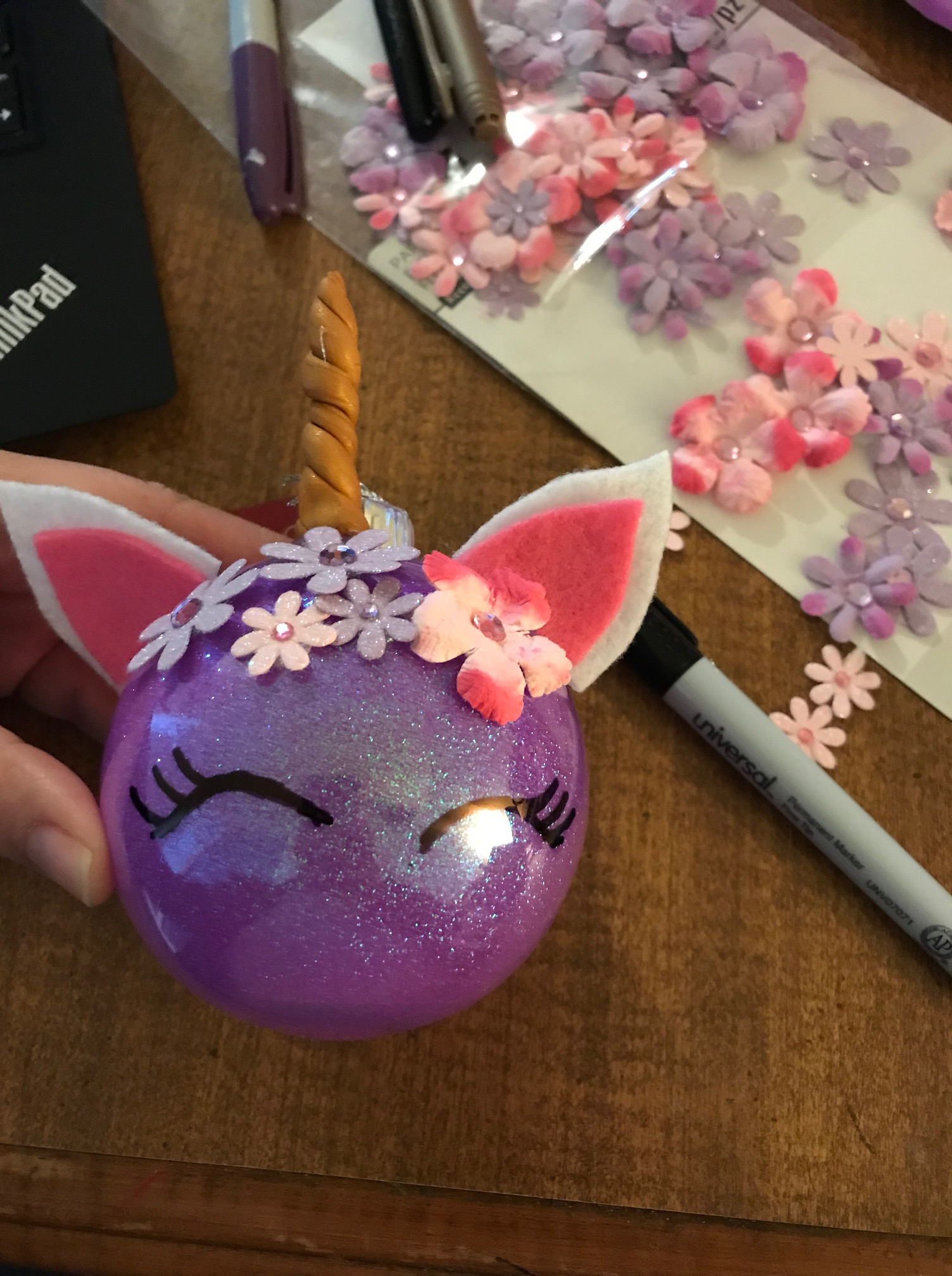 Unicorn Ornament - final