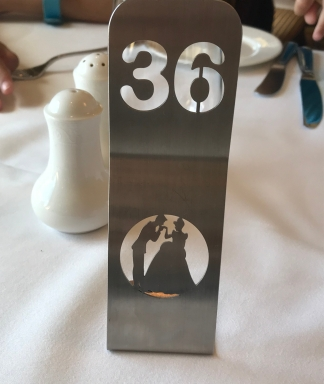 Table number - Cinderella